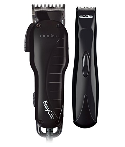 Andis EasyClip Clipper/Trimmer Combo, Pet Grooming, US-1/BTB