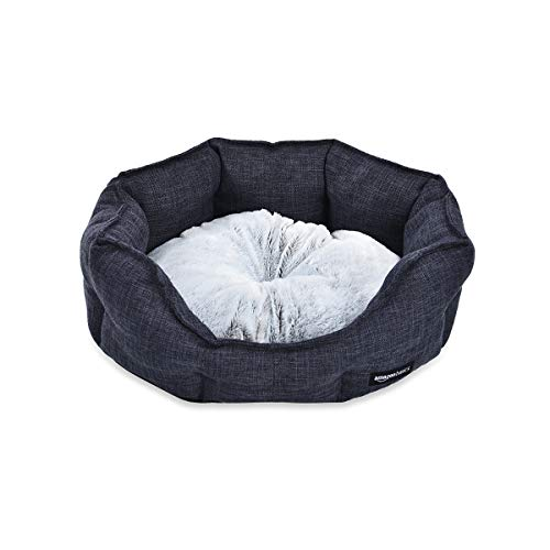 AmazonBasics Cuddler Pet Bed – Soft and Comforting