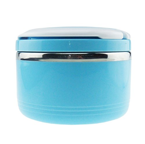 Ospard Stainless Steel Insulated Lunch Box 23 Ounce Blue (Insulated Hot Lunch Box compare prices)