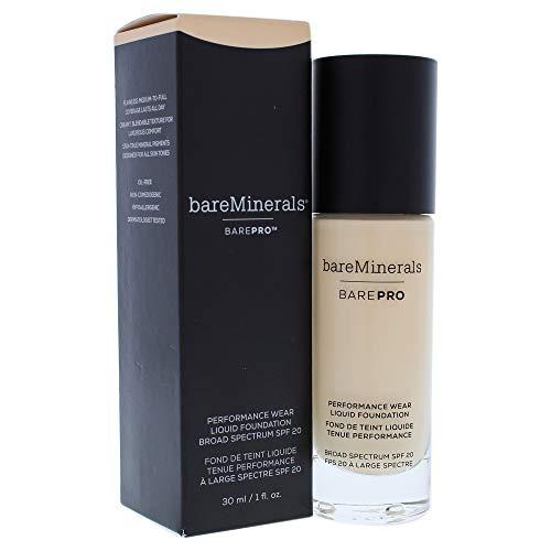 (bareMinerals Barepro Performance Wear Liquid Foundation SPF 20 07 Warm Light for Women, 1 Ounce)