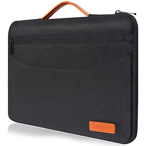 Laptop Sleeve, MUII&CELI Laptop Protective Bag Compatible 13-13.3 Inch MacBook Pro | MacBook Air | Surface Ultrabook Storage case with Handle Shockproof for iPad Tablet & Notebook -Black