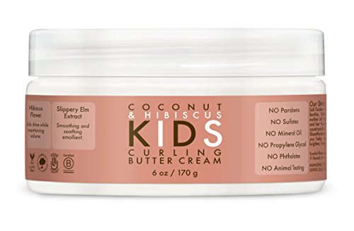 Shea Moisture Kids Curl Butter Cream Coconut & Hibiscus 6 Ounce (Best Shea Butter Products)