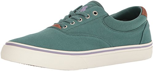 Polo Ralph Lauren Men's Thorton II Sneaker, Eucalyptus, 12 D - Us Polo Lauren By Ralph