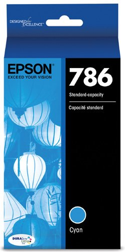 Epson T786220 DURABrite Ultra Standard-Capacity Ink Cartridge, Cyan