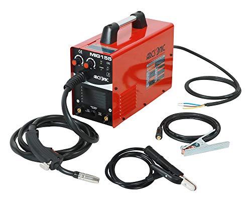 220V Mig Welding Machine MIG155 Gas/No Gas, MMA/MIG Flux Wire Welding machine 2 in 1 MMA/Mig Welding Machine 220V Input
