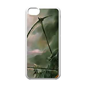 Evil Witch Halloween iPhone 5c Cell Phone Case White phone component AU_521112