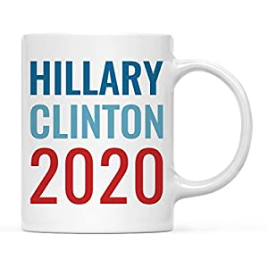Hillary Clinton 2020 Presidential Election 11oz. Coffee Mug with Gift Box