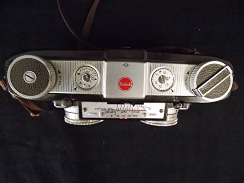 Kodak Stereo Camera with Leveler and Original Case, 1954 Vin