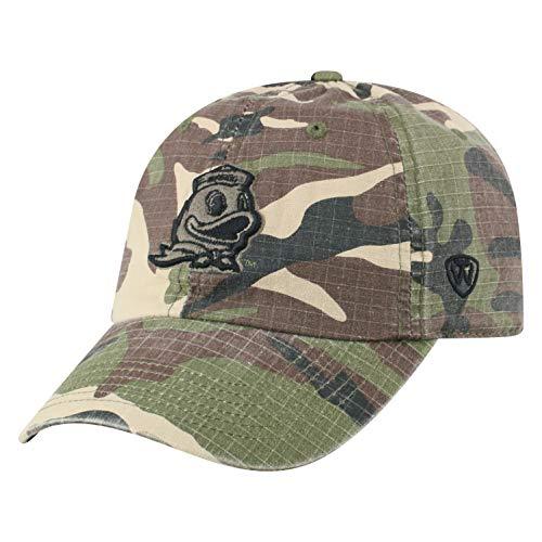 Top of the World Oregon Ducks Men's Camo Hat Icon, Camo, Adjustable