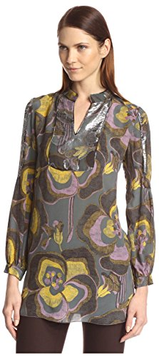 anna-sui-womens-poppy-print-blouse-slate-multi-2-us