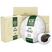 大益 中华老字号 普洱茶生茶7542标杆饼茶150g*7饼1701批推荐口粮茶勐海