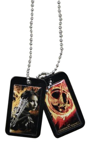 The Hunger Games Movie Epoxy Dog Tags Katniss (Peeta Costume)