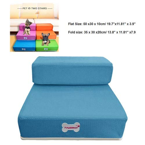 Pet Stairs,Removable Pet boy Bed Stairs, Fashion Orthopedic Dog cat Stairs,Step Comfort Pet Girl Stairs,Protect Pets