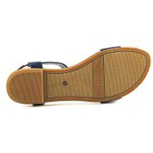 Victor Iii Navy Bar Toile Sandale B8qXaw