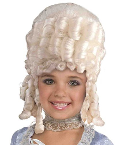 Marie Antoinette Wig Costume Accessory]()
