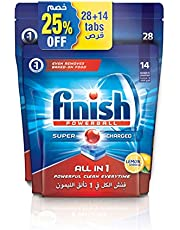 Finish Dishwasher Detergent Tablets, All in One