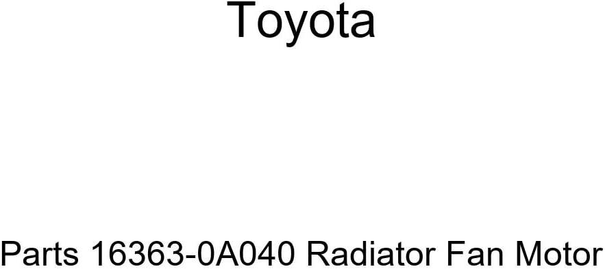 Genuine Toyota Parts 16363-0A040 Radiator Fan Motor