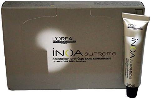 LOreal INOA supreme coloration 4.13 - Castaño indio: Amazon ...