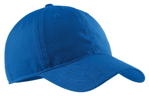 (Port & Company - Soft Brushed Canvas Cap. - Royal -)