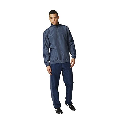 adidas TS Basic 3S Chandal, Hombre, Azul (Azuuti/Maruni), XL ...