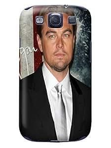 Durable fashionable Cool Leonardo Dicaprio TPU Phone Protection Case/cover Designed for Samsung Galaxy s3 WANGJING JINDA