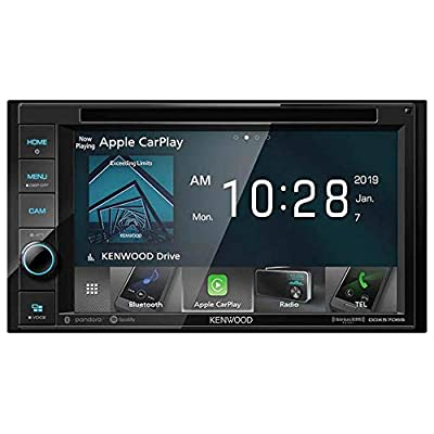 KENWOOD DDX5706S 6.2-Inch Double-DIN In-Dash DVD Receiver with Bluetooth, Apple CarPlay and SiriusXM Ready: Automotive