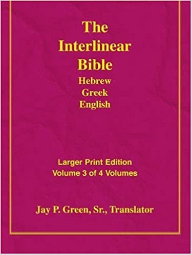 Book Larger Print Bible-Il-Volume 3