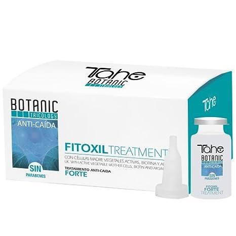 Tahe Botanic Tricology Fitoxil Forte Tratamiento Anticaída del Cabello/Ampollas para Caída Cabello/Cabellos