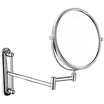Amazon Com Gurun 5x Magnification Adjustable Round Wall