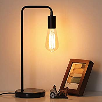 Table Lamp Vintage Desk Lamp Industrial Nightstand Lamp
