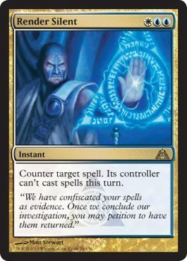 Magic The Gathering - Render Silent (96) - Dragon's Maze