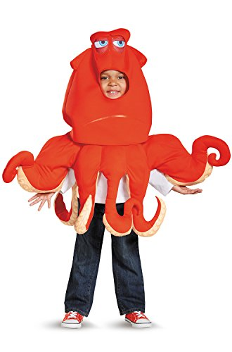 Hank The Septopus Deluxe Toddler Finding Dory Disney/Pixar Costume, Small/2T -