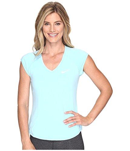 Nike shirt Top T white Women's Femme Pure Still 499 Tennis Blue Nikecourt SUaqg