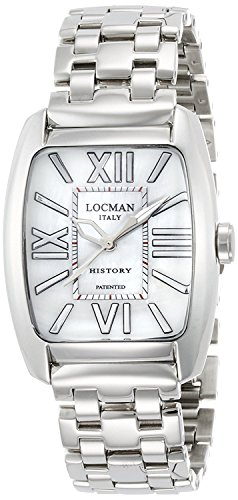 LOCMAN watch history Quartz date bracelet Ladies 0488 488N00MWFNK0BR0 Ladies