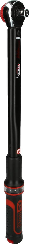 60 Dientes 40-200 NM, 1//2 con Cabeza Pulida KS Tools 516.1442 Llave dinamom/étrica
