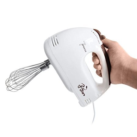 Watt Compact Mixer - XMYZ Hand Mixer100 Watt Electric Egg Beater 7-Speed Digital Kitchen Crank Handheld Mixer