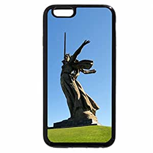 iPhone 6S Plus Case, iPhone 6 Plus Case (Black & White) - The Motherland Calls