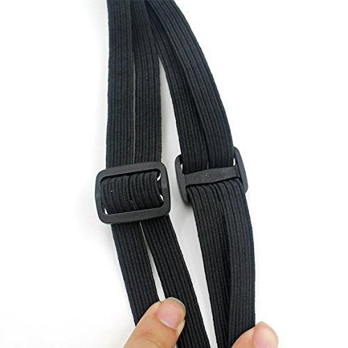 Vanpower pratique bagages Filet de casque de moto en corde Sac//Accesory