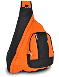 everest Sling Bag Shoulder Carry Backpack - Orange
