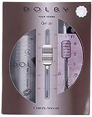 Dolby by Chris Adams for Men - Eau de Parfum, 100ml and Body Spray, 200ml