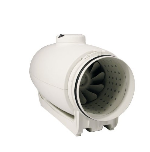 Schallged/ämpfter Rohrventilator S/&P 1000//200 Silent 1100//800m3 L/üfter Ventilator Klima