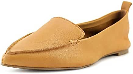Aldo Galinsky Women Pointed Toe Leather Brown Flats