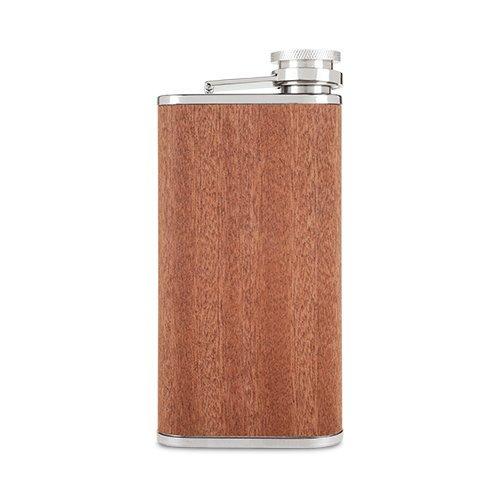 国内初の直営店 スチールフラスコ Flask、Wood Veneer 6oz Liquor Small Pocket Flask 6oz Liquor B07F2JMRH7, アズサガワムラ:381afe04 --- a0267596.xsph.ru