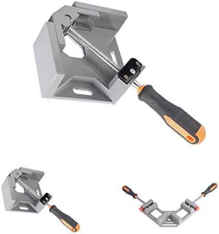 ダイカストコーナークランプマイタークランプライトアングルピクチャーフレーミングバイス2 - シングル
