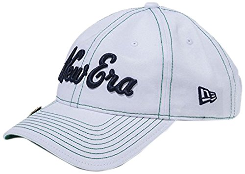 NEW ERA(ニューエラ) ゴルフ ストラップバック キャップ コットン ロゴ ホワイト 帽子