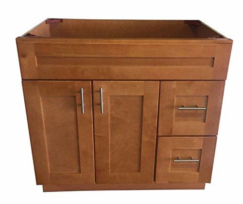 New Maple Shaker Single-sink Bathroom Vanity Base Cabinet 36
