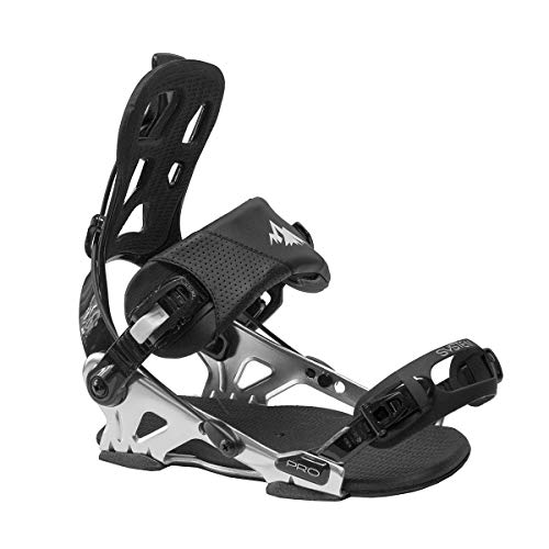 System Pro All Mountain Men's Rear Entry Step in Style Snowboard Bindings 2020