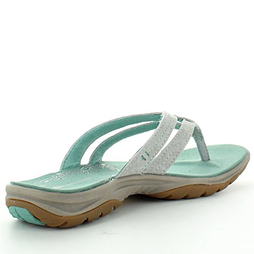 Tahiti Vibram Grey Pigskin Womens Karrimor Ladies Leather Sandals EXRfwq