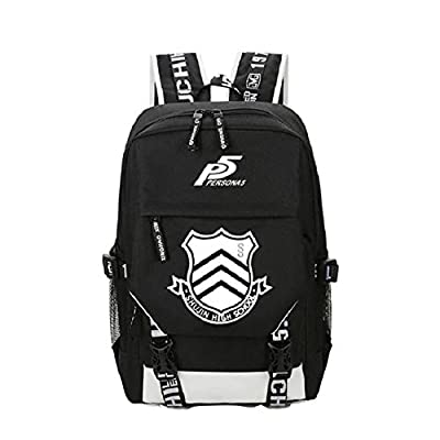 Persona 5 P5 JOKER/MONA Cosplay Boys/Girls Schoolbag Backpack Traveling Outside Laptop Christmas Gifts