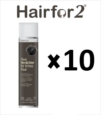 10 x hairfor2 pelo crecepelo Spray 300 Ml